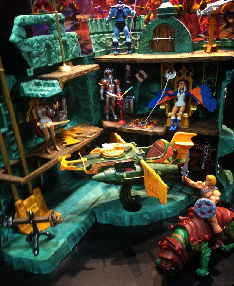 Sdcc 2013 Masters Of The Universe Classics Castle