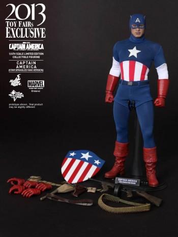 Hot Toys Captain America Star Spangled Man 1