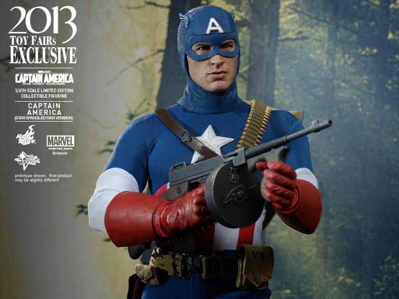 Hot Toys Captain America Star Spangled Man 2