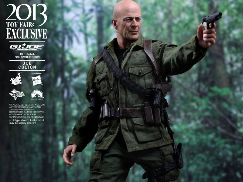 Hot Toys G.I. JOE Retaliation Joe Colton 2