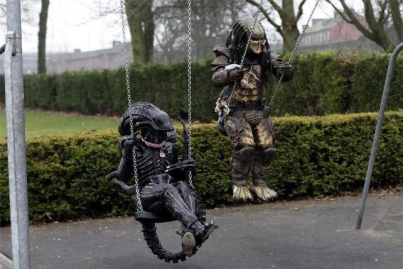 NECA Aliens Predator Caption the Pic Contest