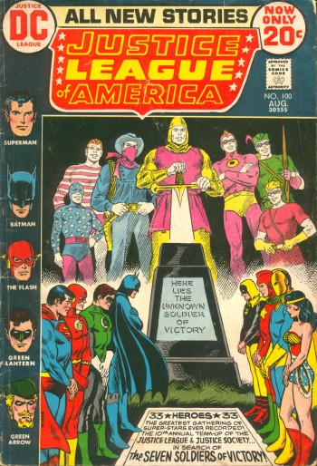 JLA 100-00 The Unknown Soldier of Victory
