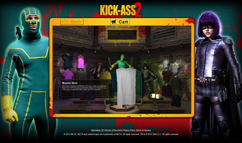 Kick Ass 2 3D Store