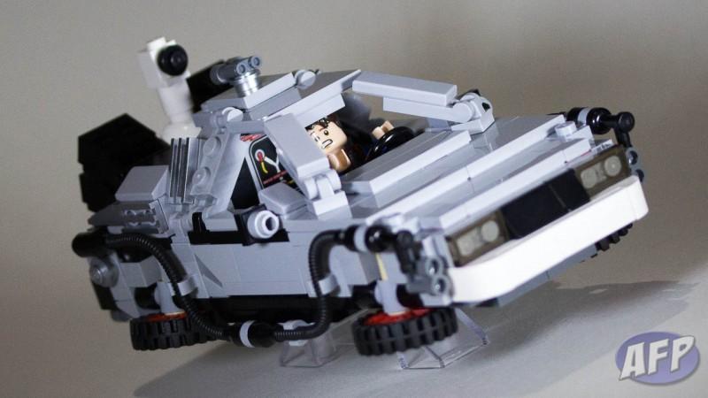 Lego Back to the Future DeLorean Time Machine (14 of 14)
