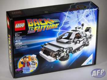Lego Back to the Future DeLorean Time Machine (2 of 14)