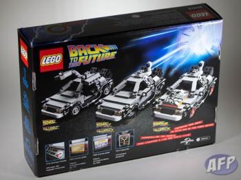 Lego Back to the Future DeLorean Time Machine (3 of 14)