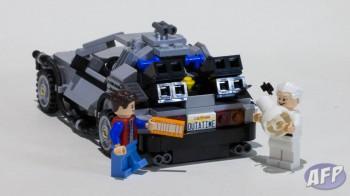 Lego Back to the Future DeLorean Time Machine (9 of 14)