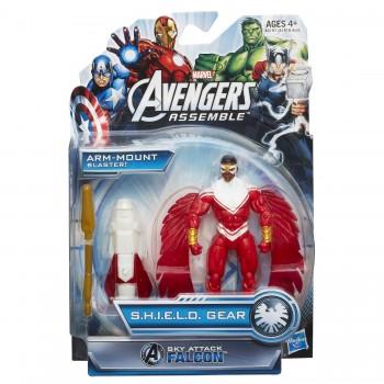 Marvel Avengers Assemble Sky Attack Falcon Figure