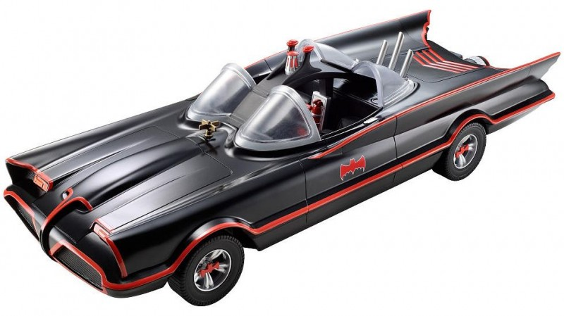 Mattel Batman Classic TV Series Batmobile