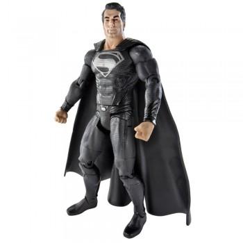 Superman Man of Steel Movie Masters Superman with Black Suit Action Figure