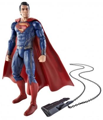 Superman Man of Steel Movie Masters Superman with Kryptonian Key Action Figure