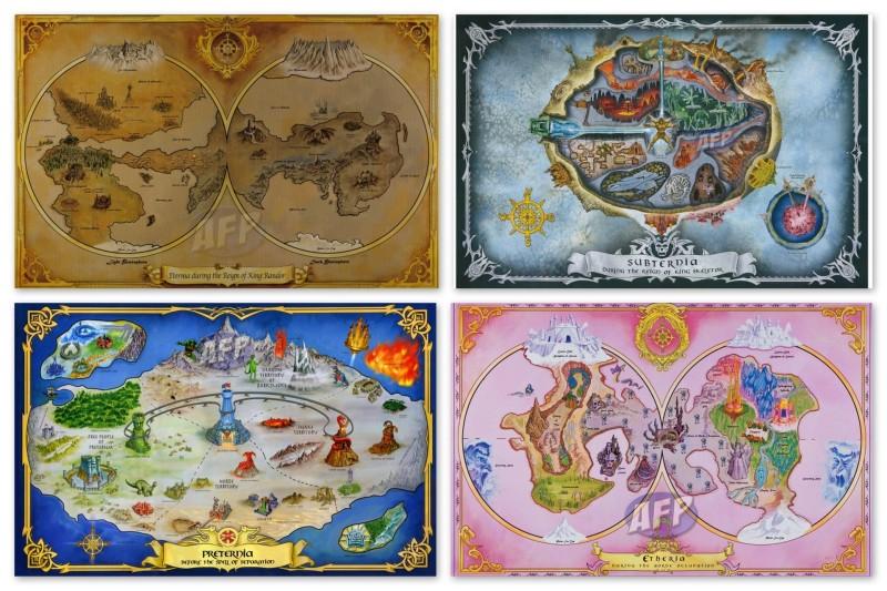 Club Eternia Maps