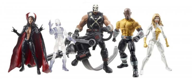 Hasbro 2013 SDCC Marvel Legends Thunderbolts_figure set