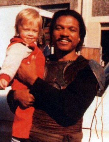 Nathan Hamill with Billy Dee Williams (Lando Calrissian)