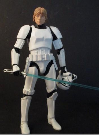 Star Wars Stormtrooper Luke 1