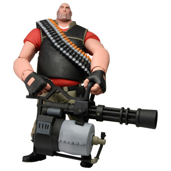 Team Fortress 7-Inch Deluxe Figure S2 RED Heavy