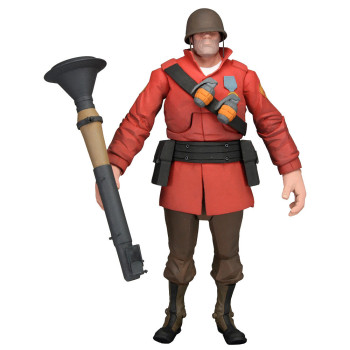 Team Fortress 7-Inch Deluxe Figure S2 RED Soldier