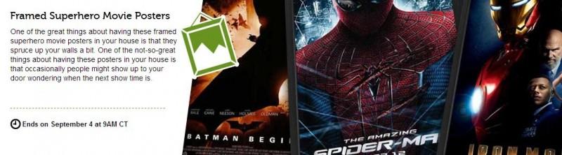 Woot Superhero Movie Posters