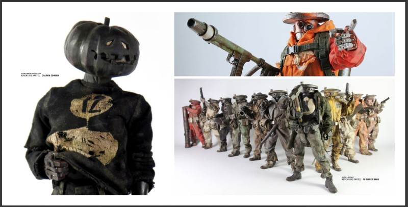 3A Toys Adventure Kartel Hot-Foot and friends