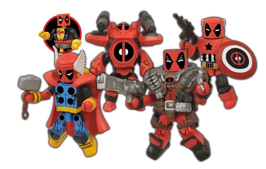 Marvel Minimates Deadpool