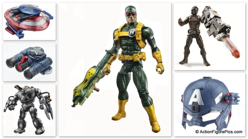 Hasbro NYCC Marvel Legends Captain America Reveals
