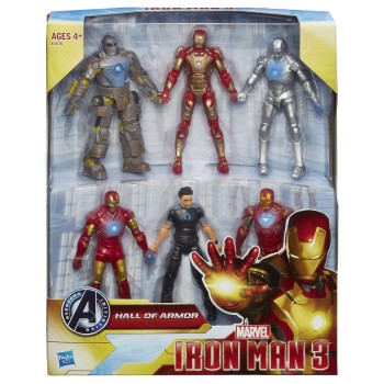 Iron Man 3 Marvel Hall of Armor Collection Action Figure 1
