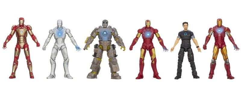 Iron Man 3 Marvel Hall of Armor Collection Action Figure 2