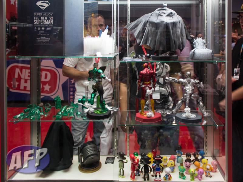 NYCC 2013 - Play Imaginative Super Alloy DC Comics New 52 Justice League (1 of 15)