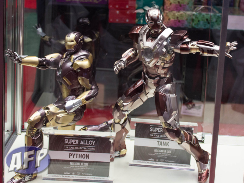 NYCC 2013 - Play Imaginative Super Alloy Iron Man One Quarter (1 of 32)