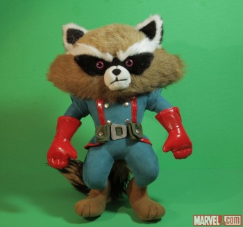 Rocket Raccoon Plush by Just Play