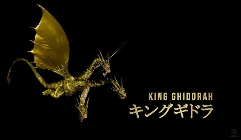 S.H. MonsterArts King Ghidorah Articulation Demo