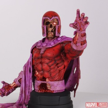 Zombie Magneto Bust by Gentle Giant