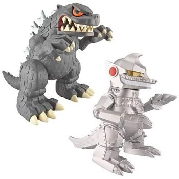 Godzilla 5.5-Inch Super Deformed Collector Figure Set