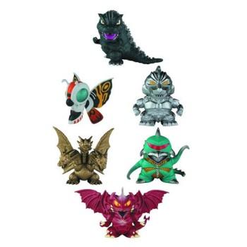 Godzilla Chibi Super Deformed Mini-Figure 6-Pack
