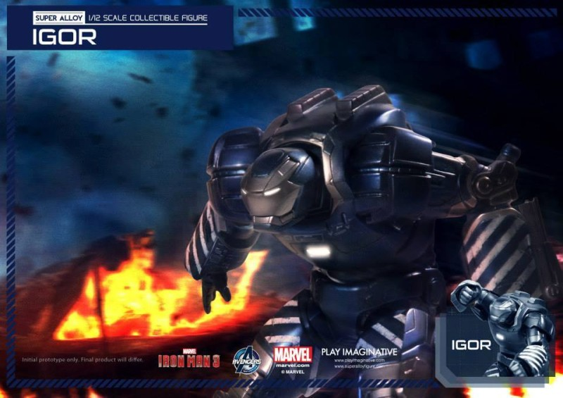 Play Imaginative Super Alloy One Twelfth Iron Man Igor 7
