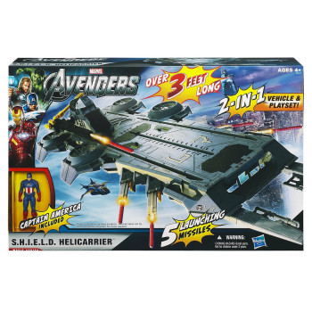 The Avengers S.H.I.E.L.D Helicarrier 1