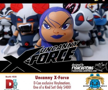 Uncanny X-Force (F1SHCUSTOMS)