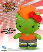 COMIKAZE 2013 EXCLUSIVE HELLO KITTY BLANKA PLUSH