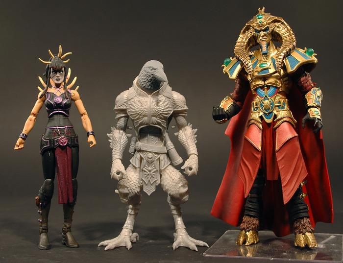 Four Horsemen Kickstarter Gothitopolis Ravens Size Issue update 1 6