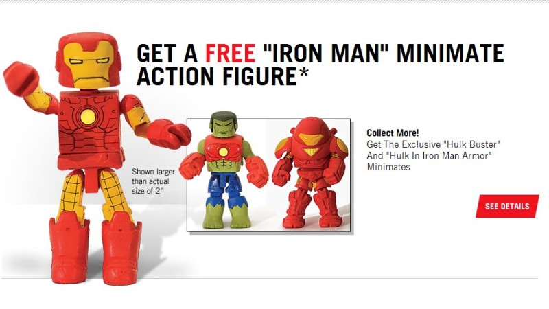 Heroes United Minimates Offer