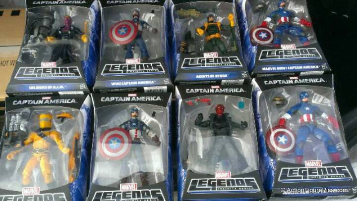 Marvel Legends Captain America First Look 1