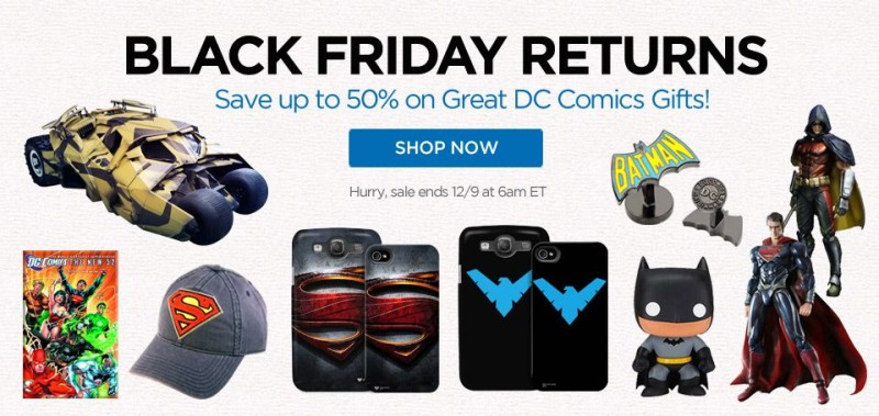 ShopDCEntertainment Black Friday Returns