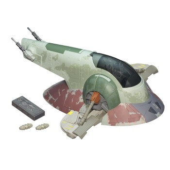 Star Wars The Empire Strikes Back Slave I Boba Fett's Spaceship Vehicle [Amazon Exclusive] 2