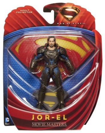 Superman Man of Steel Movie Masters Jor-el Action Figure 1