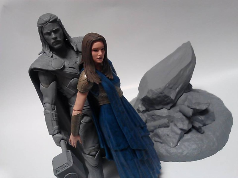 Marvel Select Jane Foster and Thor prototype