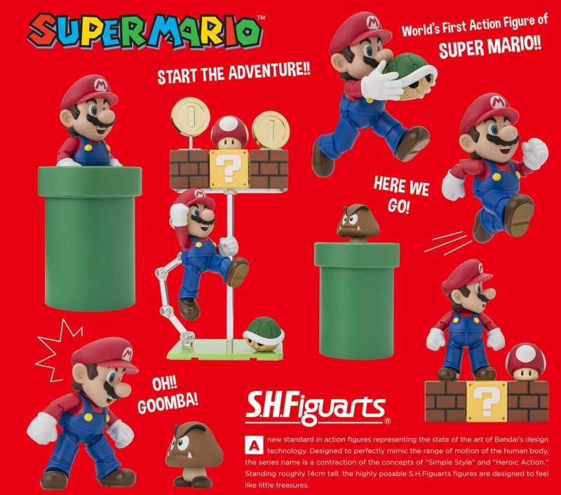S.H.Figuarts Super Mario teaser