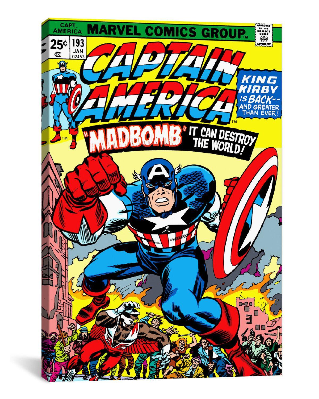 Fresh Woot Marvel Comic Book Canvas Art sample