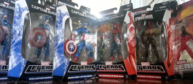 AFP Marvel Legends Captain America Spider-Man Free Stuff Giveaway