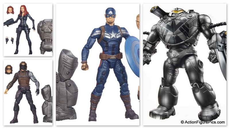 Captain America Marvel Legends Infinite Series 2
