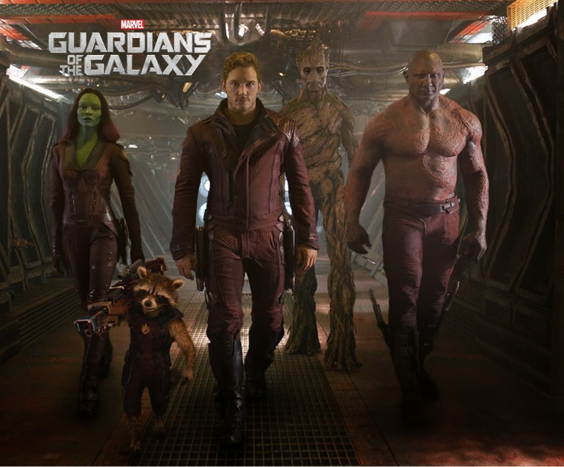 Guardians of the Galaxy Movie Trailer Pic
